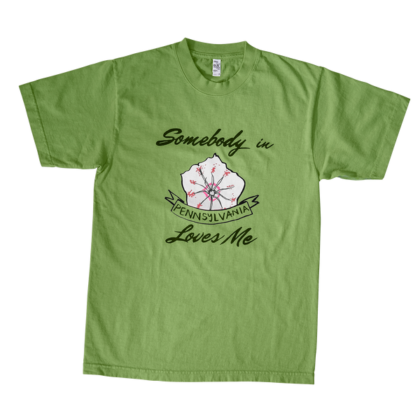 Somebody in Pennsylvania Loves Me - Green Tee