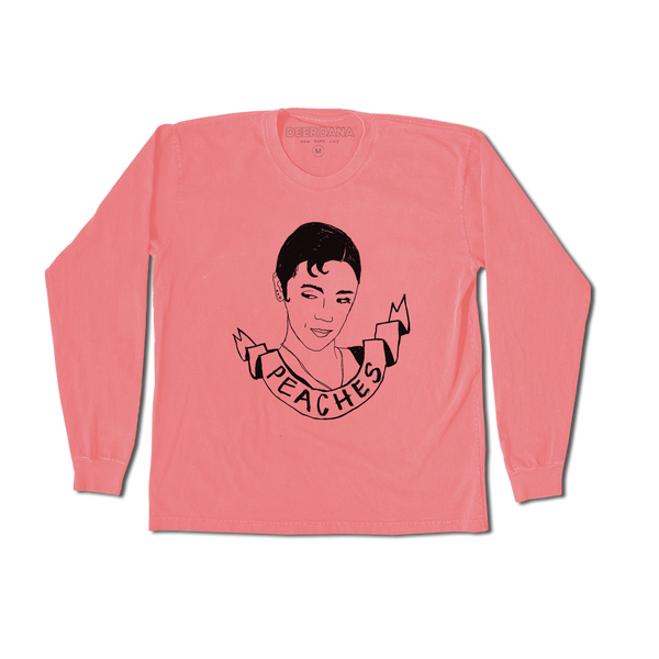 Peaches Long Sleeve Tee