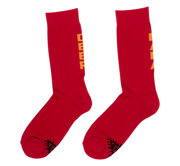RED LOGO SOCKS