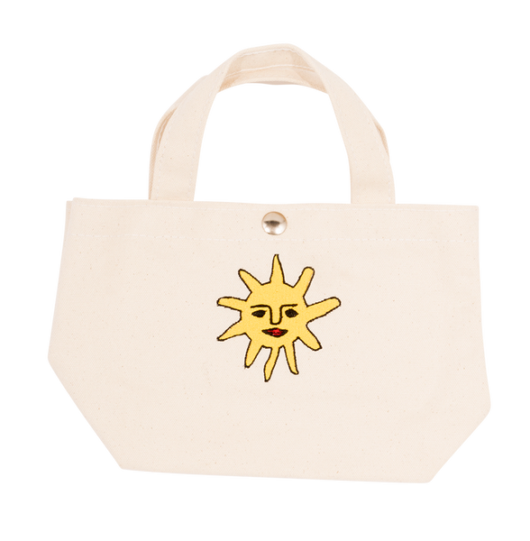 Sun Tiny Tote Bag