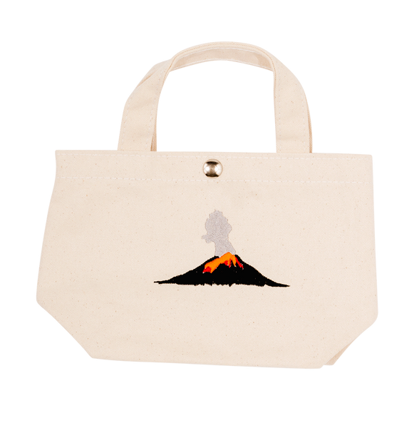 Volcano Tiny Tote Bag