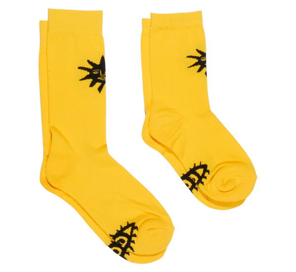 YELLOW SUN SOCKS