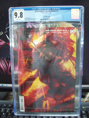 Dark Nights: Death Metal (2020) #1 Lau Variant Cover CGC 9.8