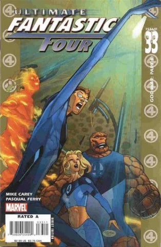 Ultimate Fantastic Four Vol 1 #33