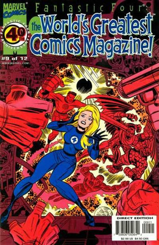Fantastic Four: The World's Greatest Comics Magazine #09