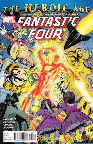 Fantastic Four Vol 3 #580