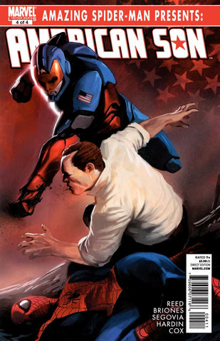 Amazing Spider-Man Presents: American Son #4