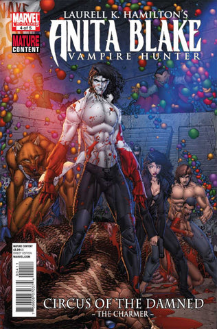 Anita Blake, Vampire Hunter: Circus Of The Damned #4