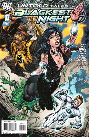 Untold Tales Of Blackest Night #1