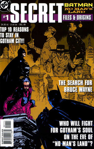 Batman: No Man's Land Secret Files #1