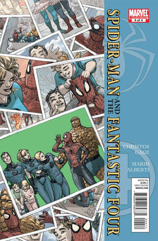 Spider-Man/Fantastic Four #4