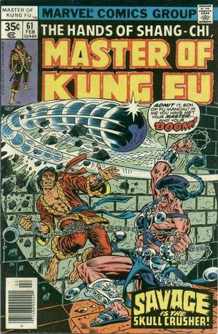 Copy of Masters Of Kung Fu Vol 1 #61