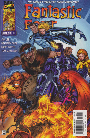 Fantastic Four Vol 2 #08