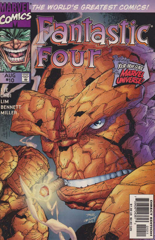 Fantastic Four Vol 2 #10