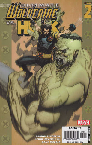 Ultimate Wolverine Vs Hulk #2