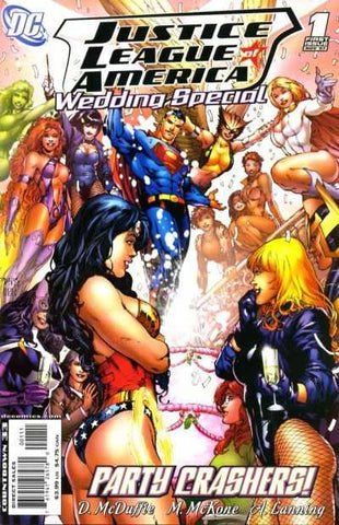 Justice League Of America Wedding Special #1