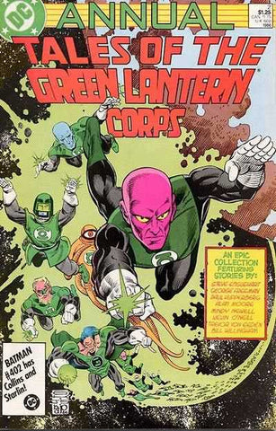 Tales Of Green Lantern Corps Vol. 1 Annual #2