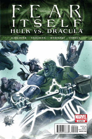 Fear Itself: Hulk Vs Dracula #2