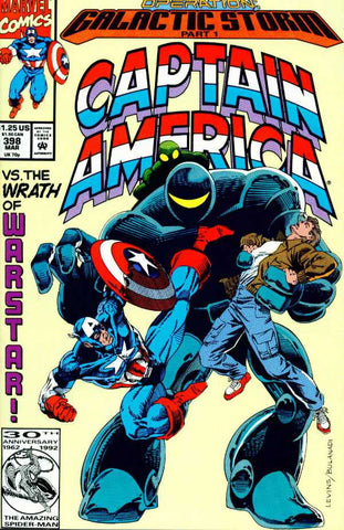 Captain America Vol 1 #398