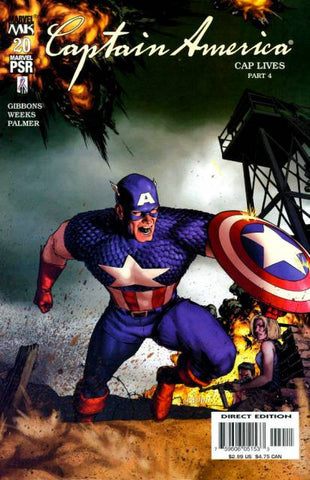 Captain America Vol 4 #20