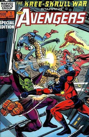 The Kree-Skrull War Starring The Avengers #1