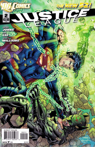 Justice League (New 52) #02
