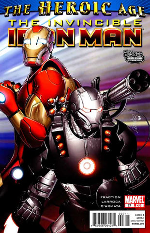 Invincible Iron Man Vol 1 #027