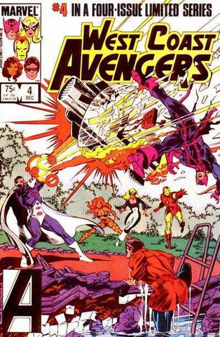 West Coast Avengers VOL 1 #4