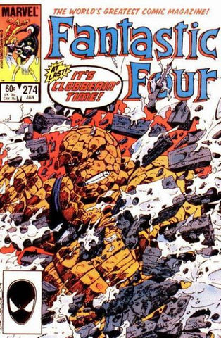 Fantastic Four Vol 1 #274