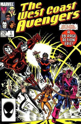 West Coast Avengers VOL 2 #01