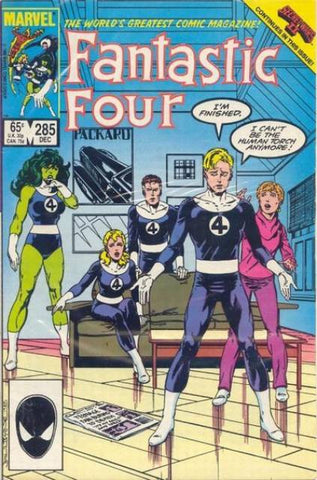 Fantastic Four Vol 1 #285