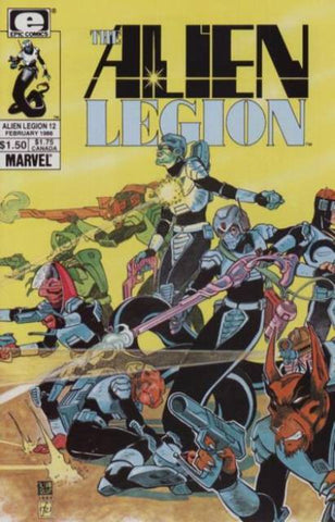 Alien Legion Vol 1 #12