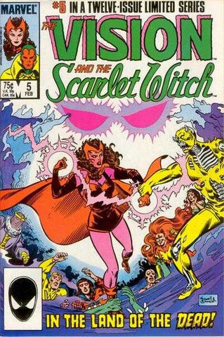 Vision And The Scarlet Witch #05