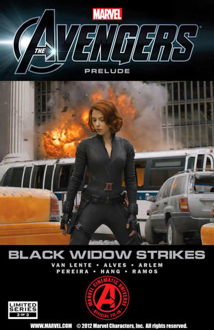 Avengers Prelude: Black Widow Strikes #3