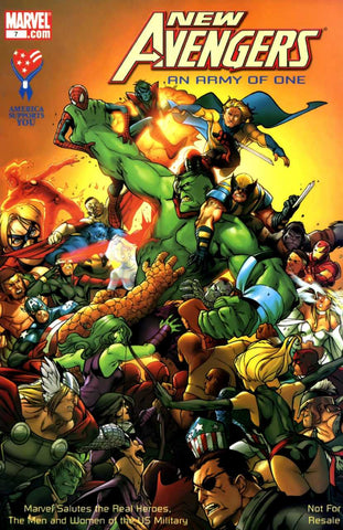 New Avengers Vol. 1 An Army Of One #7