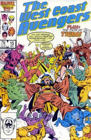 West Coast Avengers VOL 2 #15