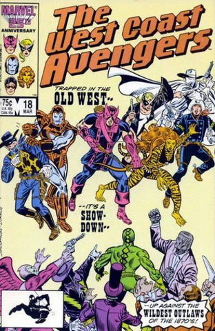 West Coast Avengers VOL 2 #18