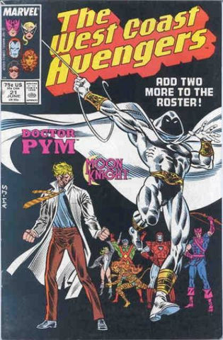 West Coast Avengers VOL 2 #21