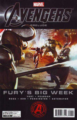 Avengers Prelude: Fury's Big Week #1