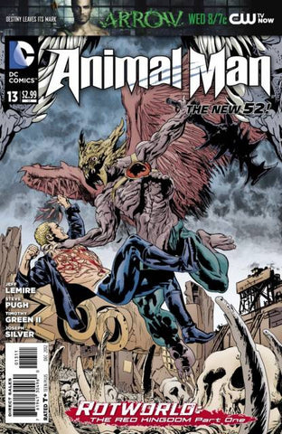 Animal Man (New 52) #13