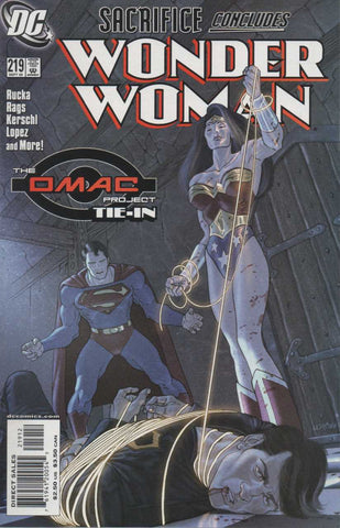 Wonder Woman Vol. 2 #219