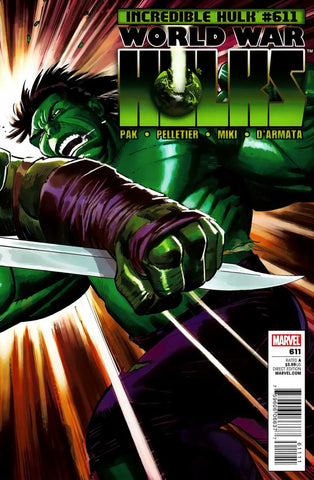 Incredible Hulk Vol 2 #611