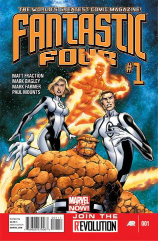 Fantastic Four Vol 4 #01