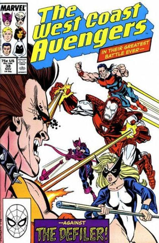 West Coast Avengers VOL 2 #38