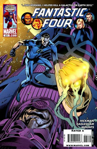 Fantastic Four Vol 3 #571
