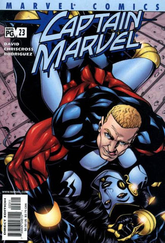 Captain Marvel Vol 3 #23