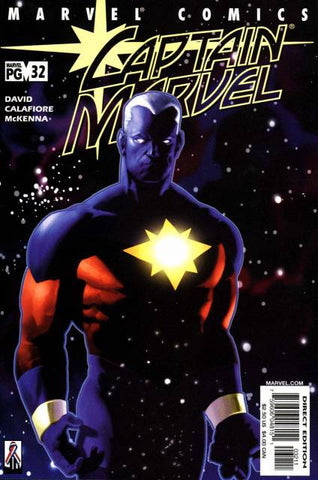 Captain Marvel Vol 3 #32