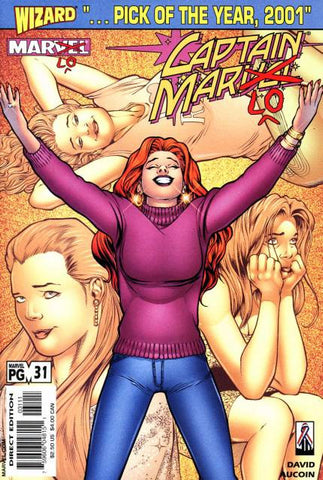 Captain Marvel Vol 3 #31