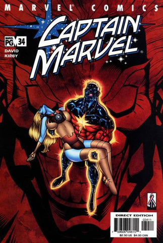 Captain Marvel Vol 3 #34