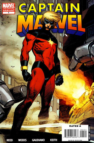 Captain Marvel Vol 5 #01